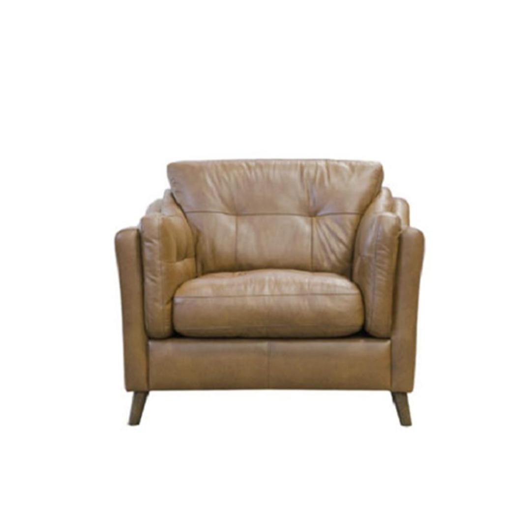 Saddler Chair Leather Brown image 0
