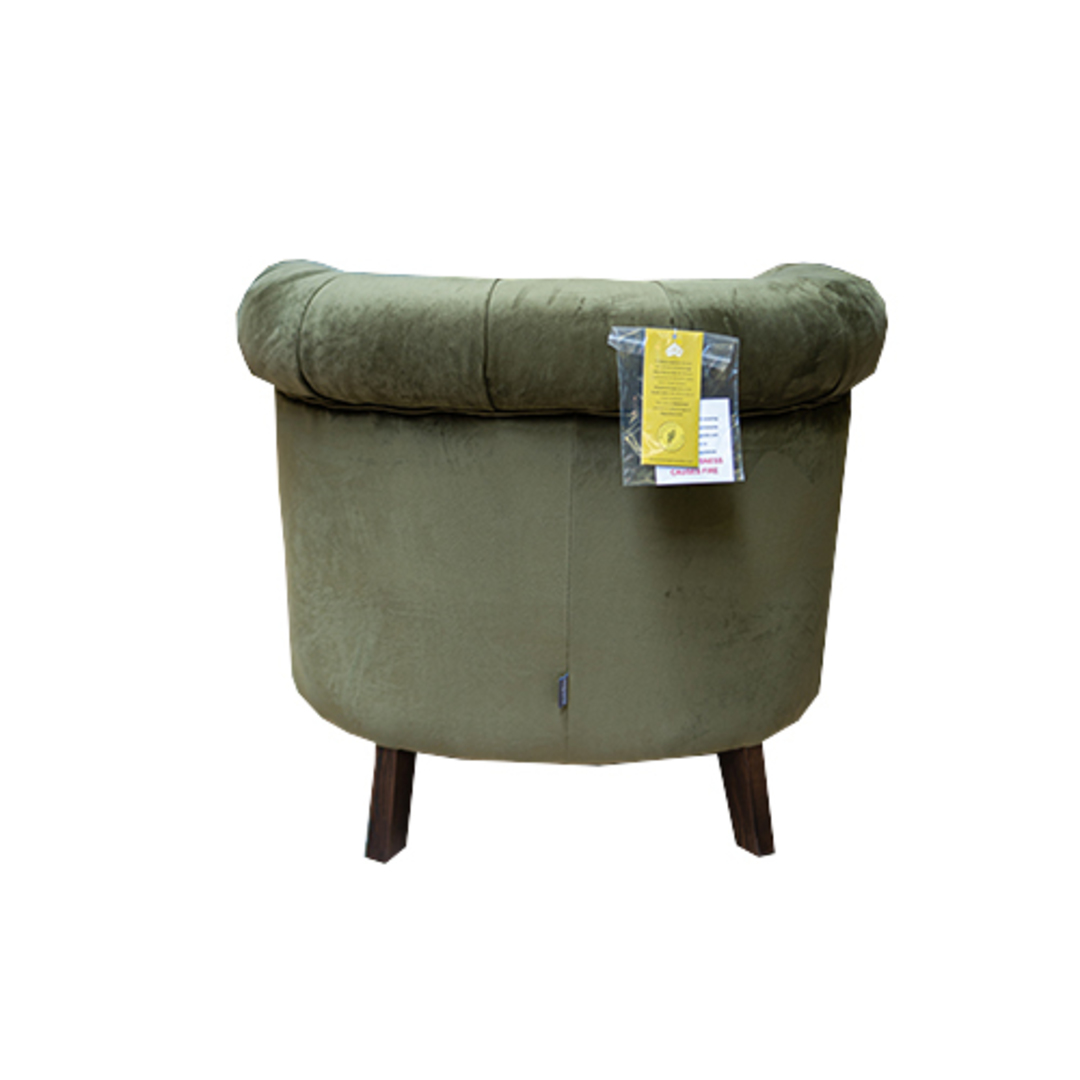 Jude Chair Plush Velvet Green image 2