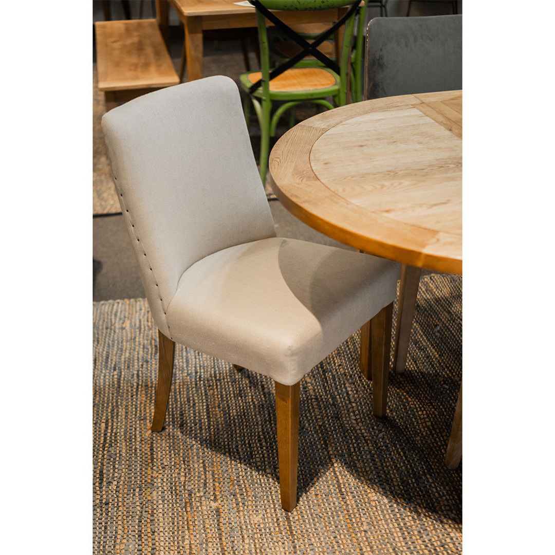 Bella Linen Dining Chair image 3