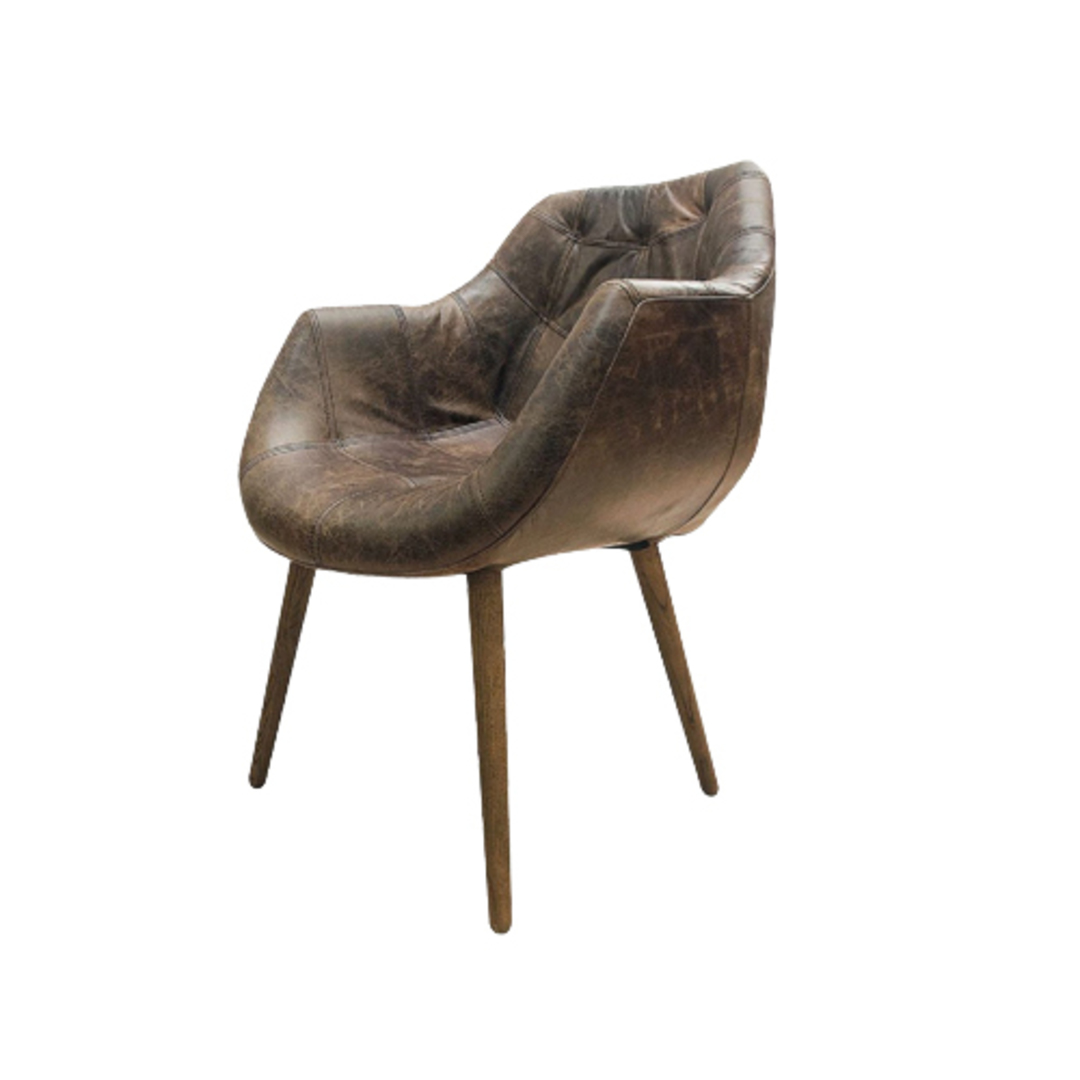 Eden Dining Chair Leather image 0