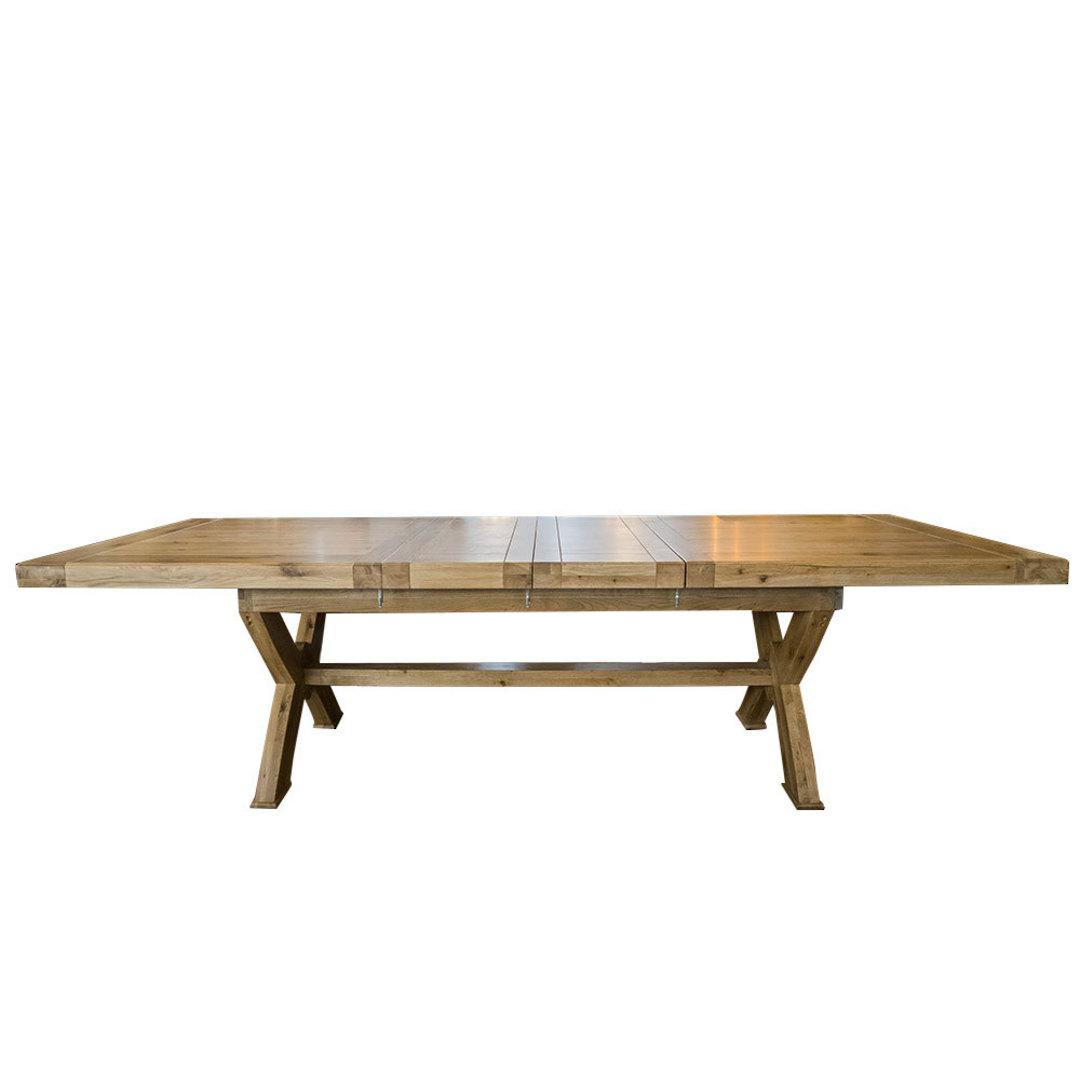 Oak Chateau Extension Table 2.1 M - 2.9M image 2
