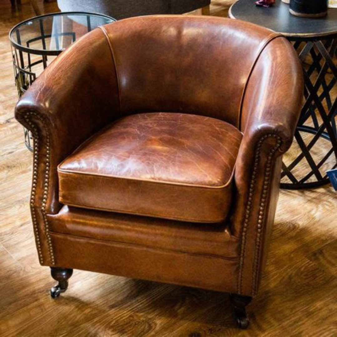 Westminster Aged Italian Tub Chair image 5