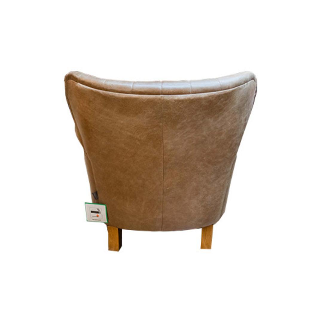 Percy Accent Chair Satchel Latte image 3