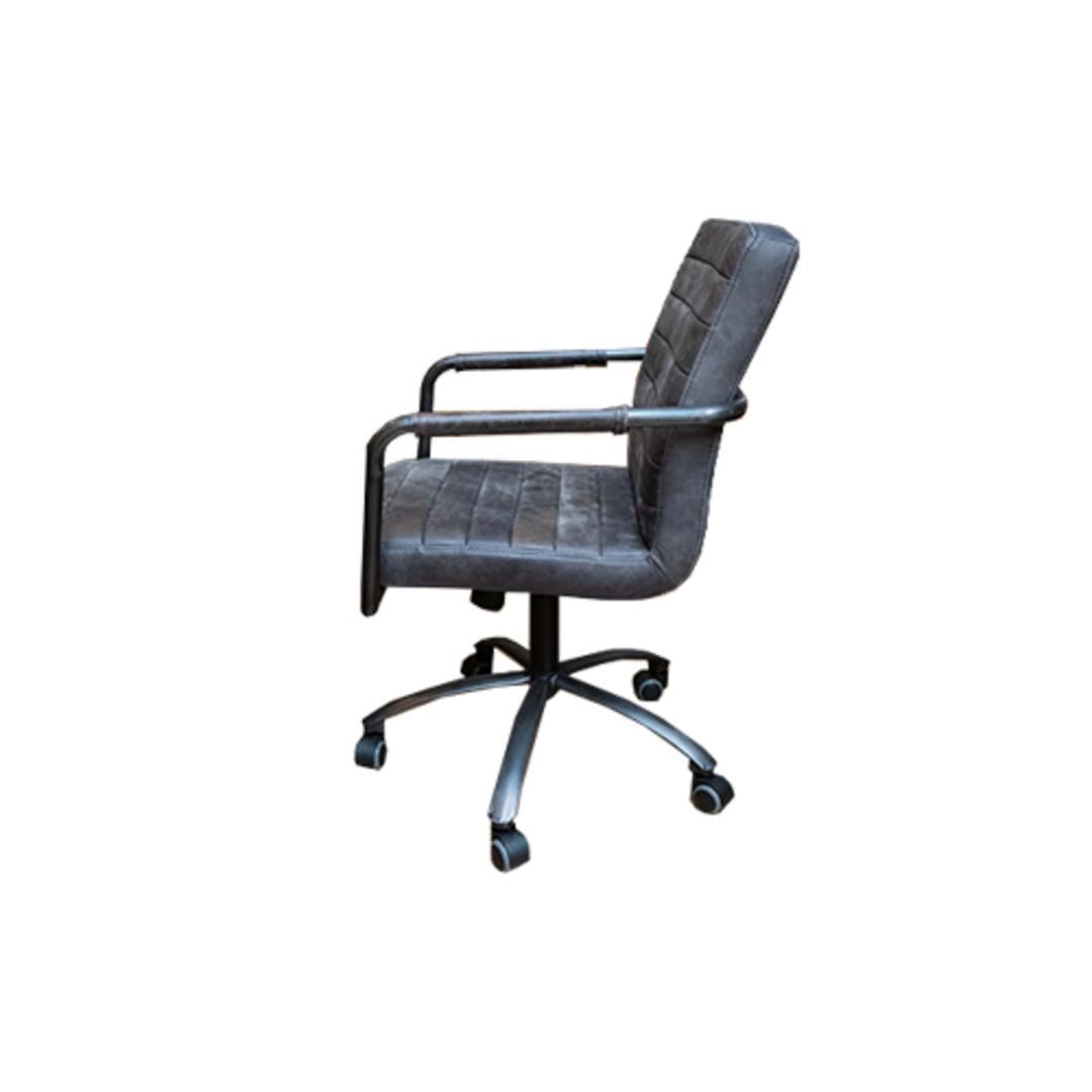 Barcelona Leather Desk Chair image 1