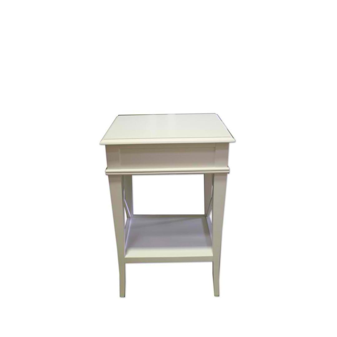 Villa Bedside Table - White Poplar image 2