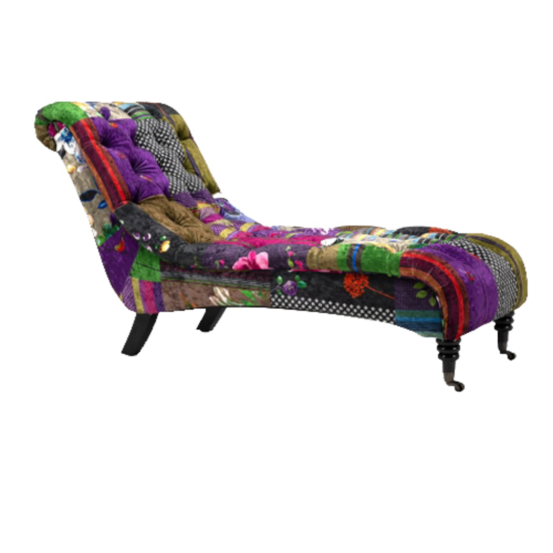 Patchwork Chaise image 1