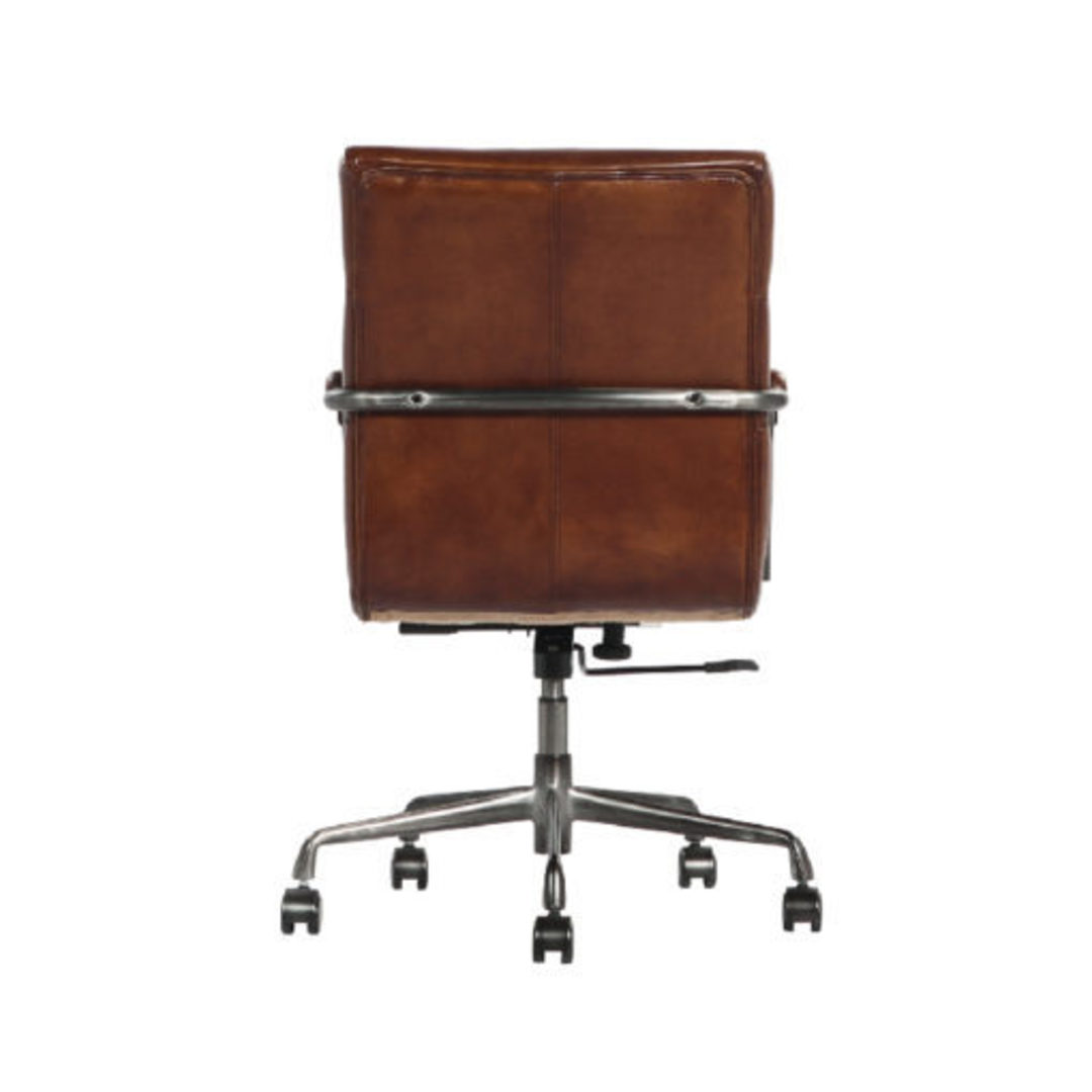 Hagley Vintage Leather Office Chair image 4