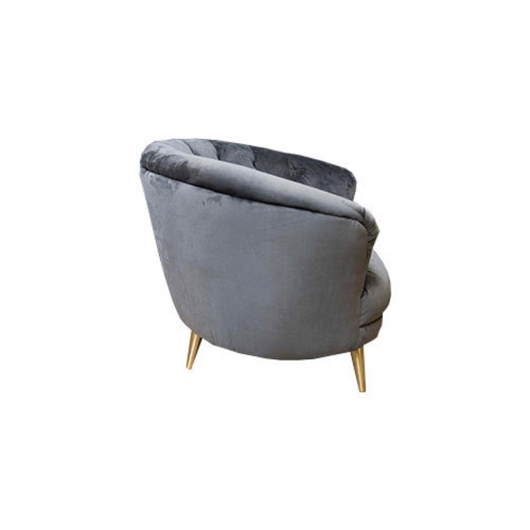 Jean Snuggler Chair Plush Slate image 3