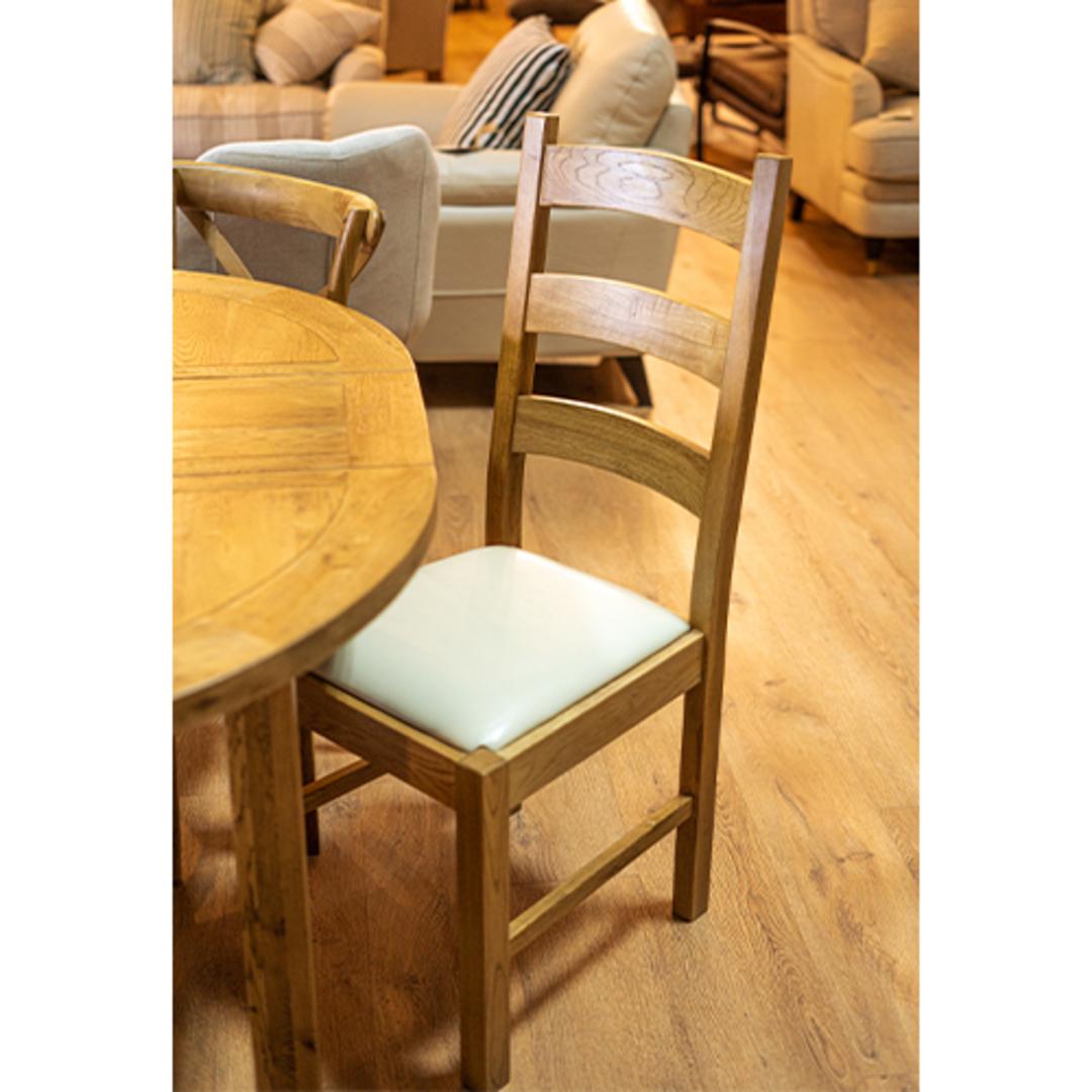 Hanko Light Oak Dining Chair image 2