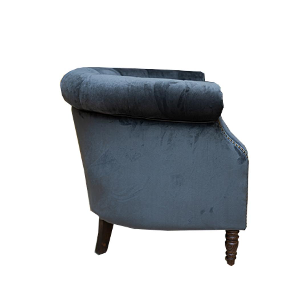 Jude Chair Plush Velvet Charcoal image 2