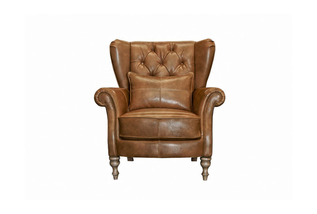 Abraham Wing Back Chair image 1
