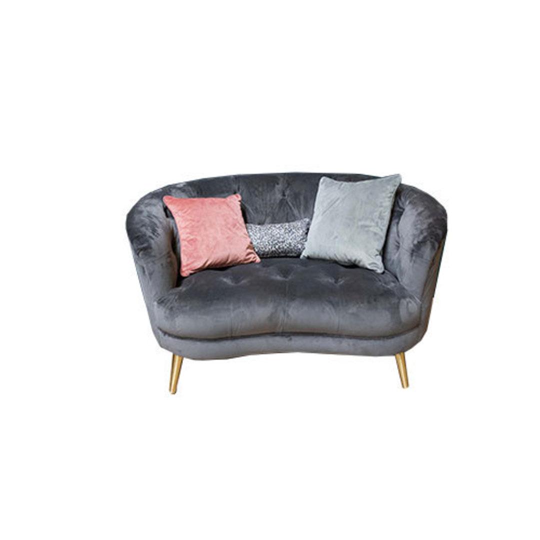 Jean Snuggler Chair Plush Slate image 0