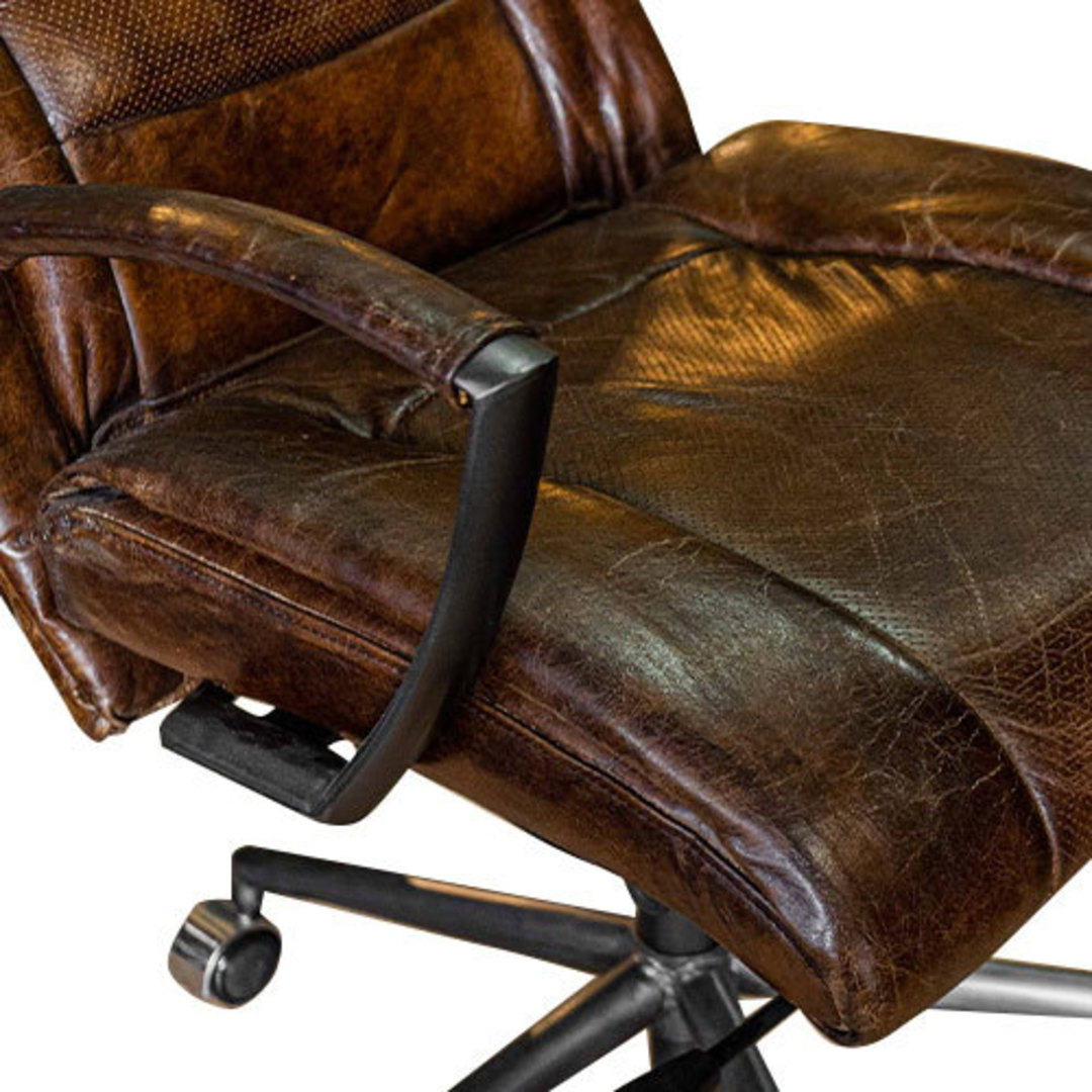 Washington High Back Leather Recliner Office Chair image 5