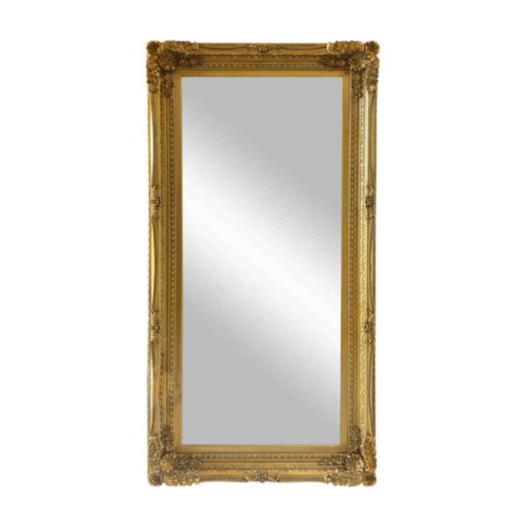 Chateau Wall Mirror Antique Gold image 0
