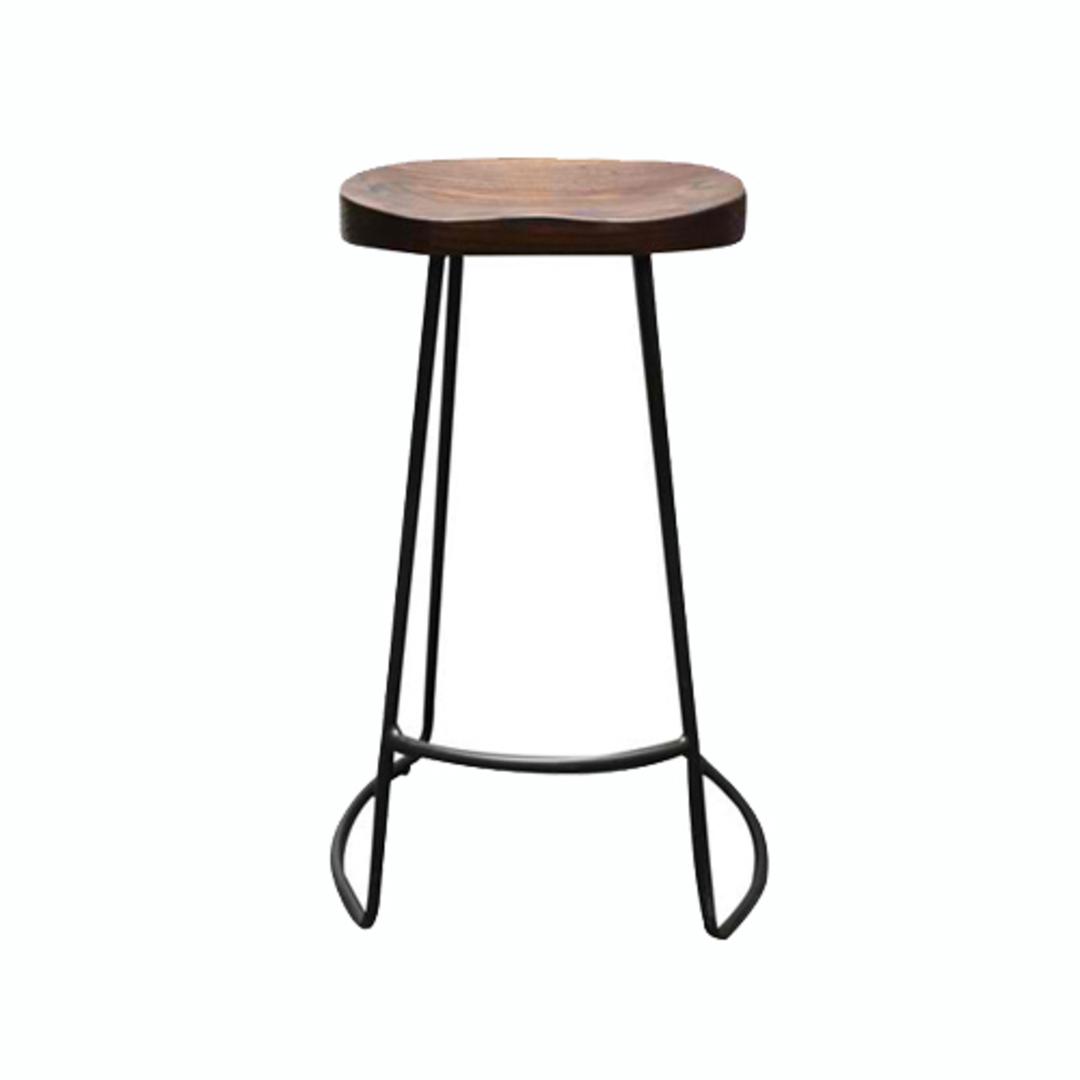Prospect Barstool With Elm Seat image 2