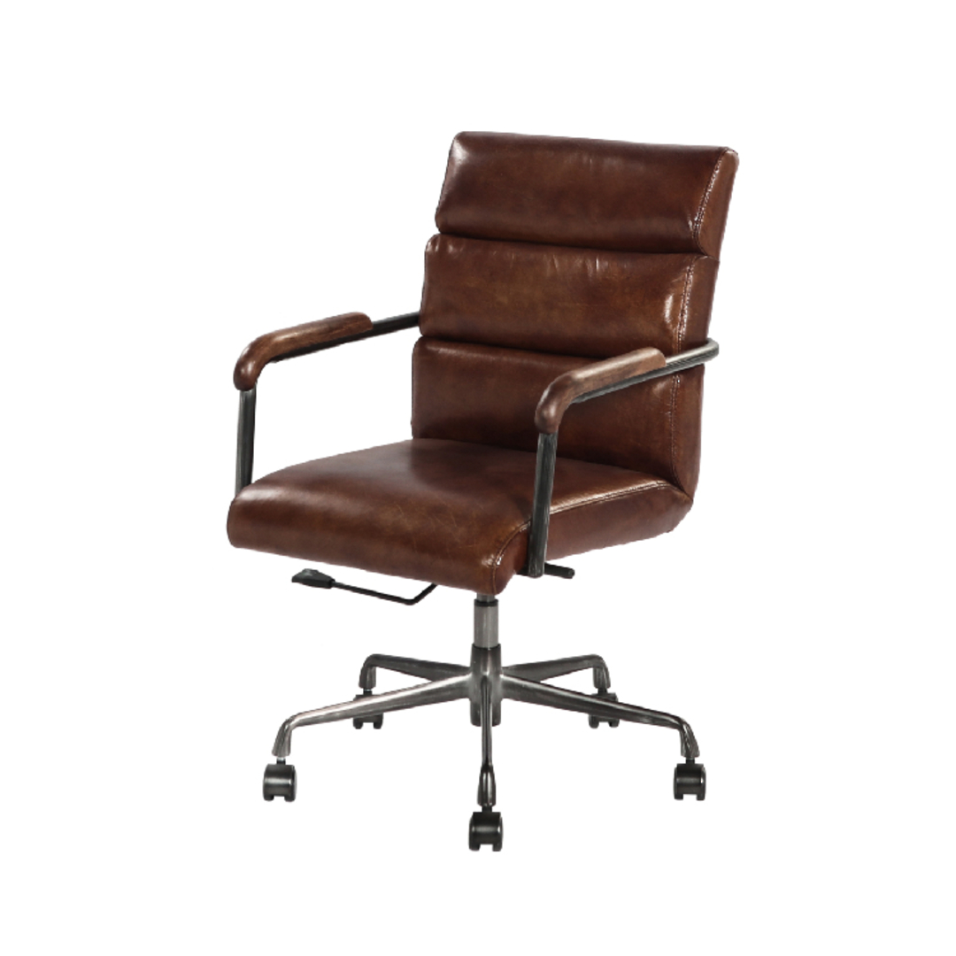 Hagley Vintage Leather Office Chair image 0