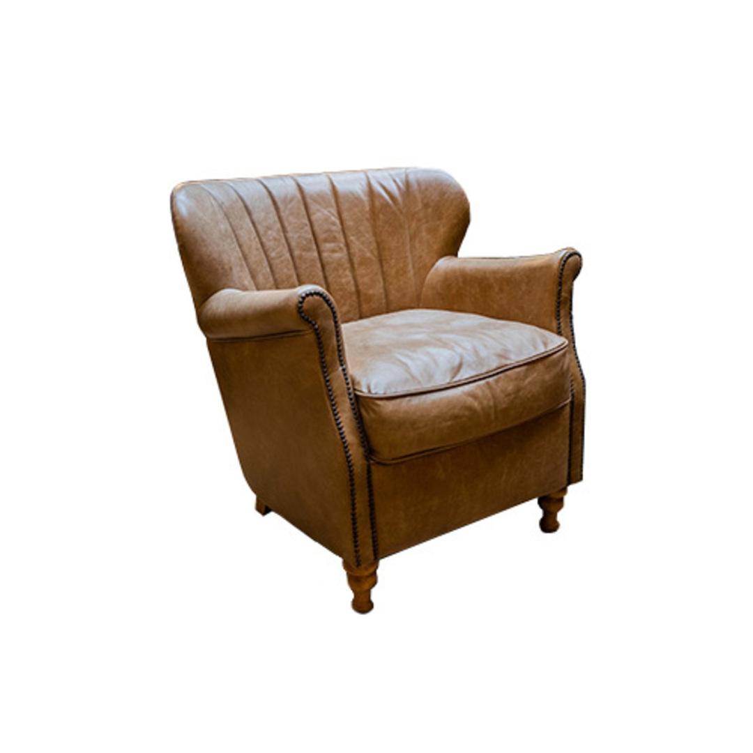 Percy Accent Chair Satchel Latte image 1