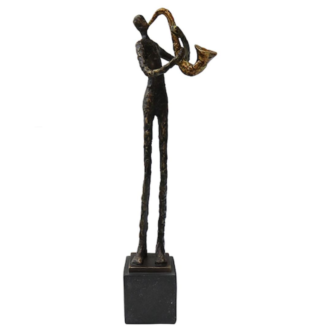 Resin Saxophone Player image 0