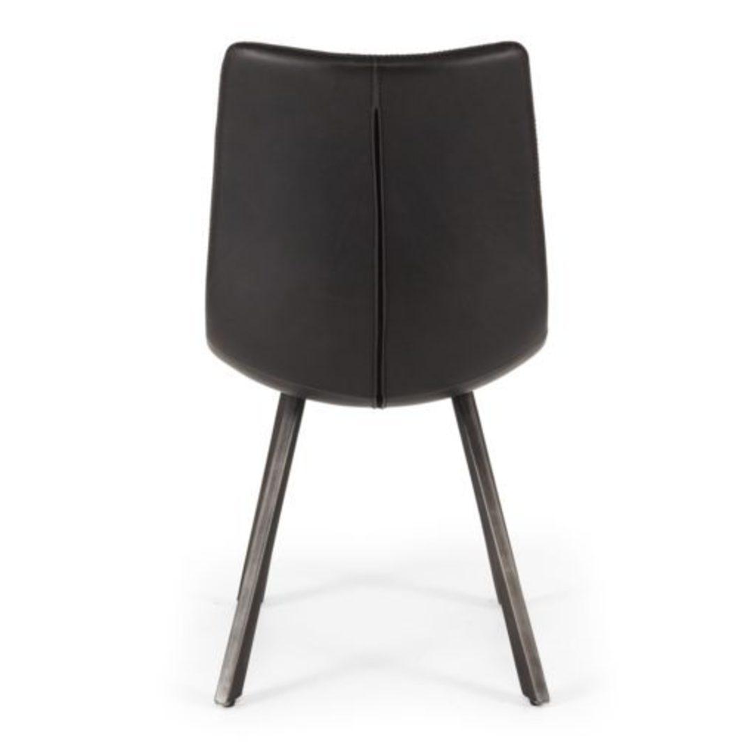 Rustic Chair Vintage Black image 3