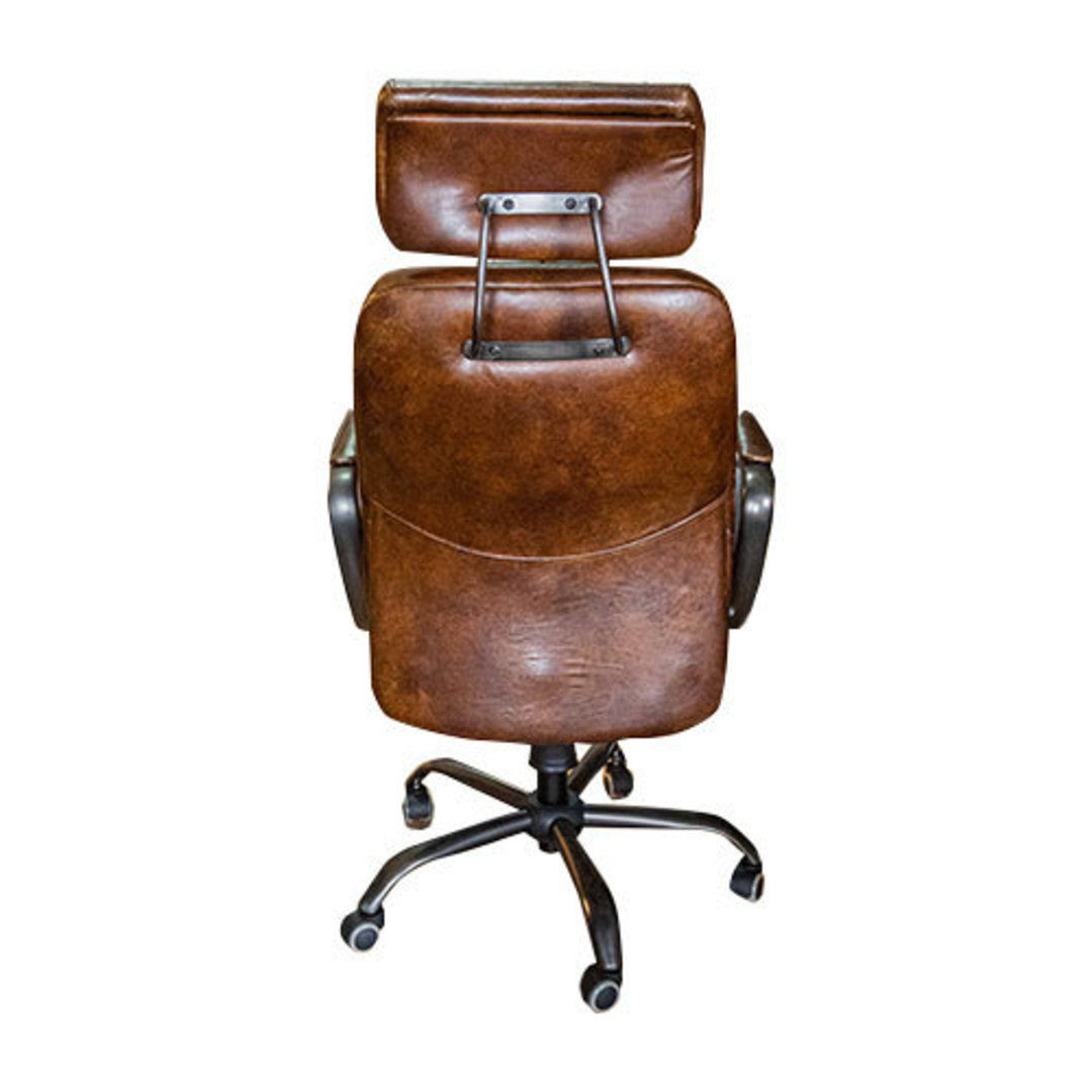 Philadelphia High Back Leather Recliner Office Chair image 2