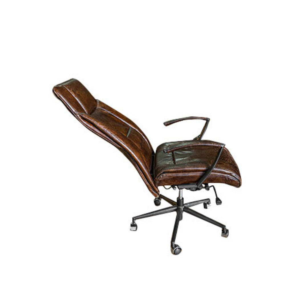 Washington High Back Leather Recliner Office Chair image 3