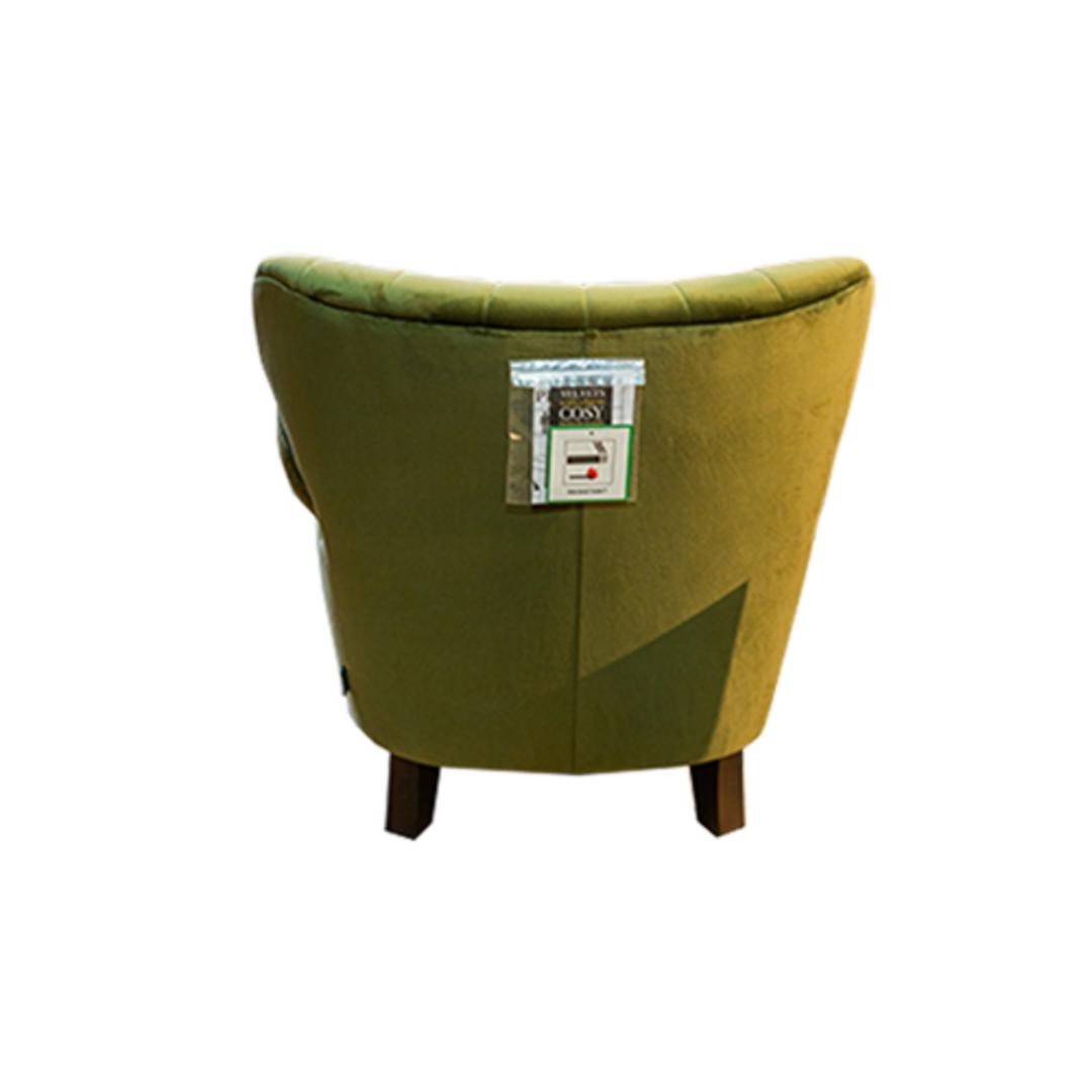 Percy Chair Plush Velvet Green image 1