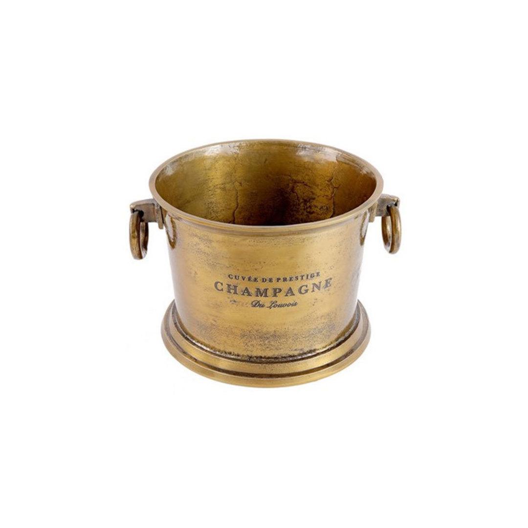 Brass Aluminium Wine Cooler image 0