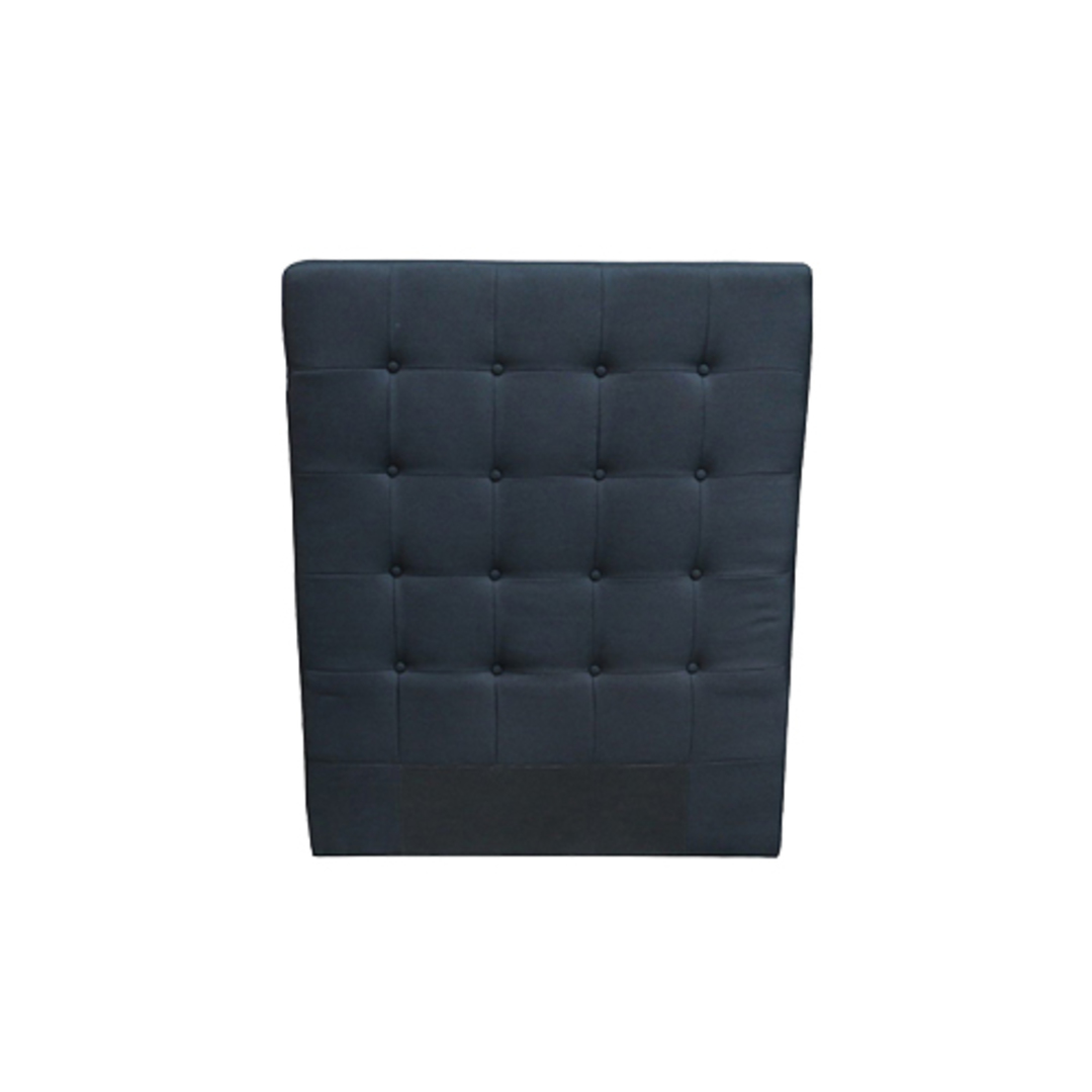Charly Bedhead King Single Black Fabric image 0