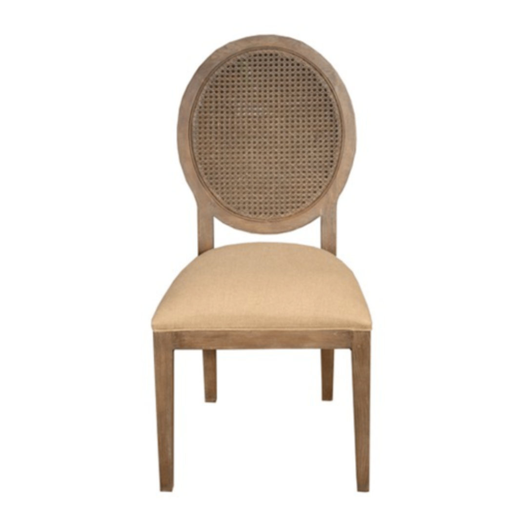 Valdez Rattan Back Dining Chair image 2
