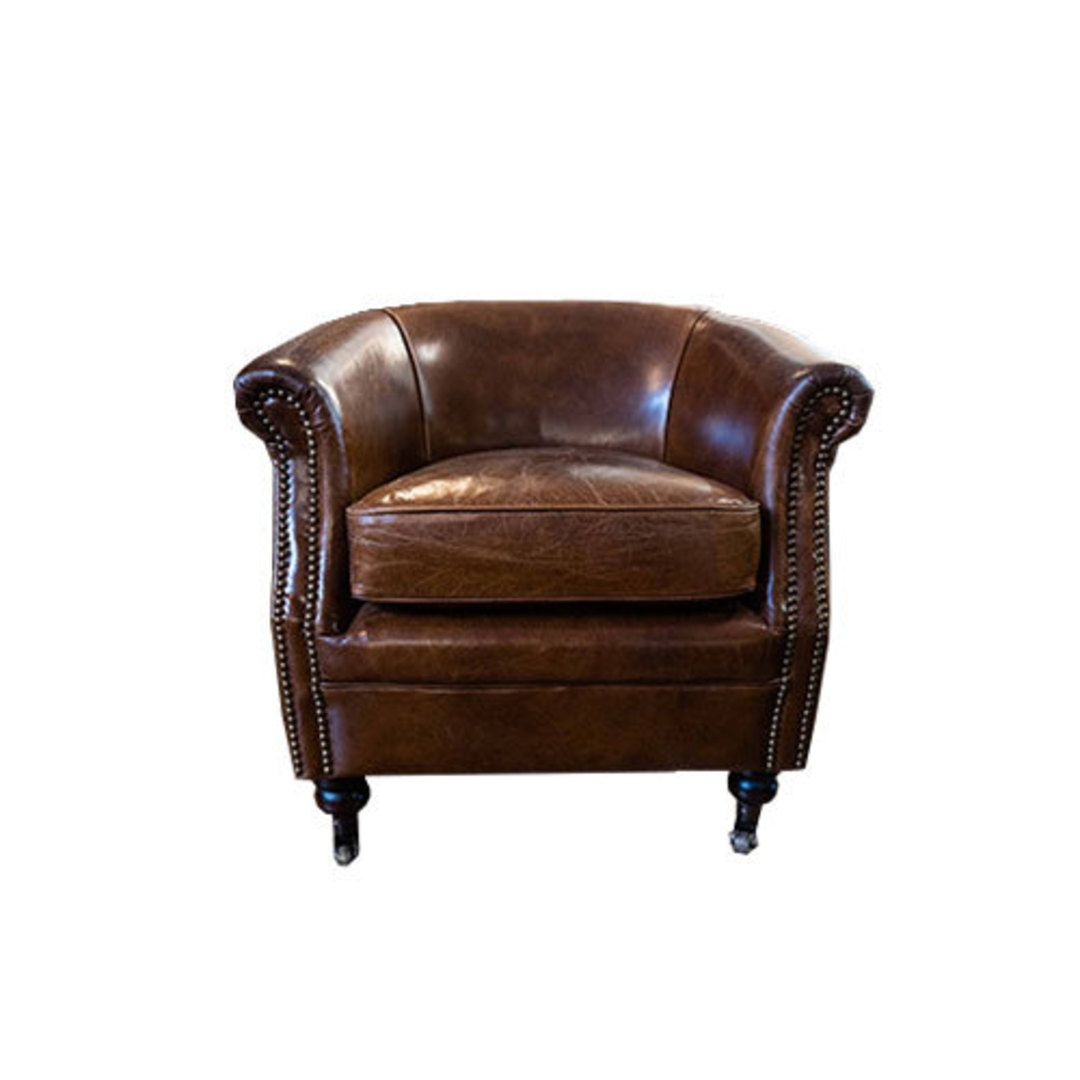 Westminster Aged Italian Tub Chair image 1