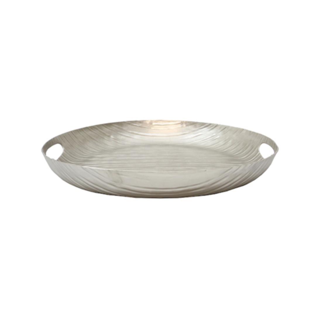 Aluminium Linear Round Tray image 0