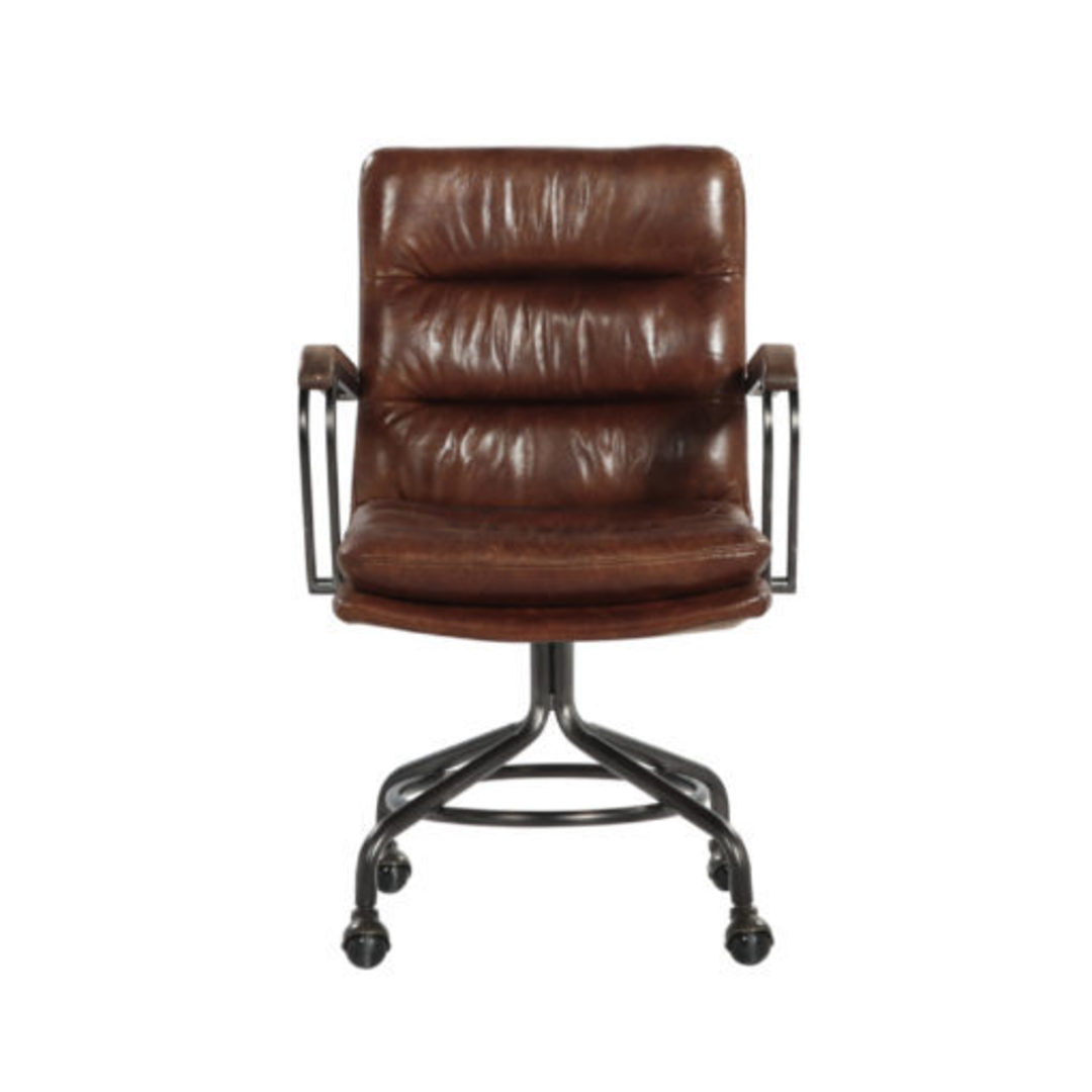 Newcastle Vintage Leather Office Chair image 2