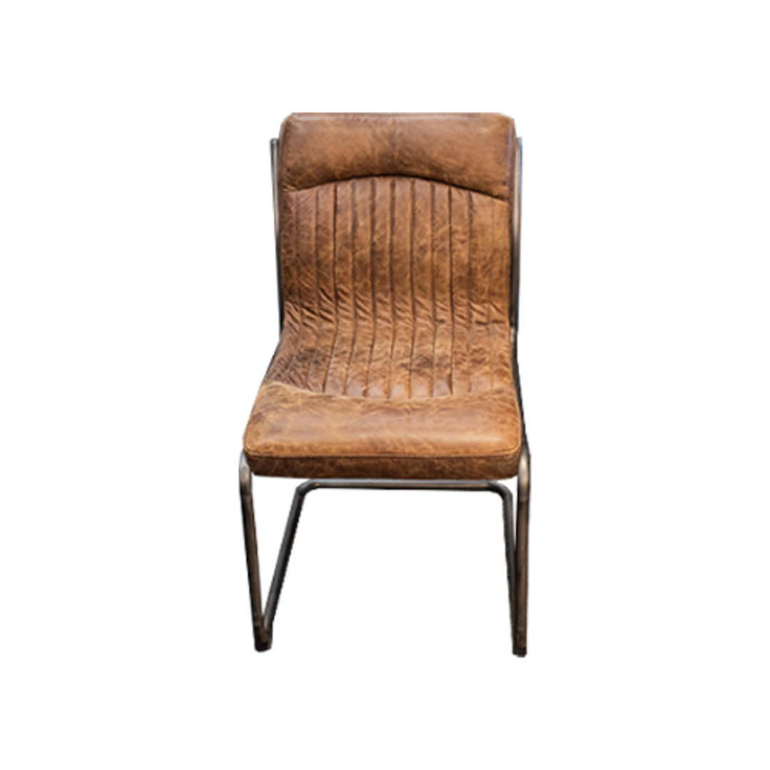 Pistoria Leather Dining Chair image 0