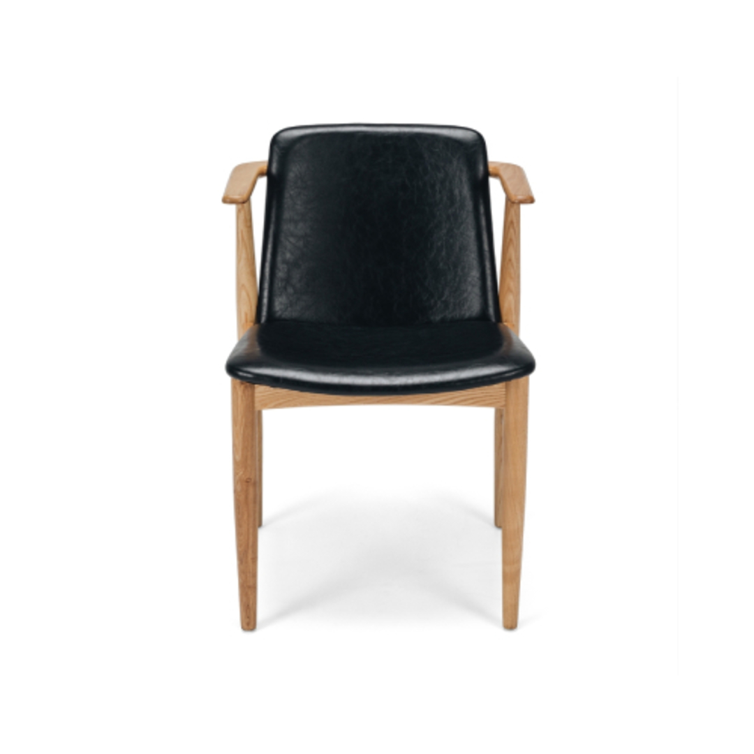 Magnus Chair Vintage Black PU image 0