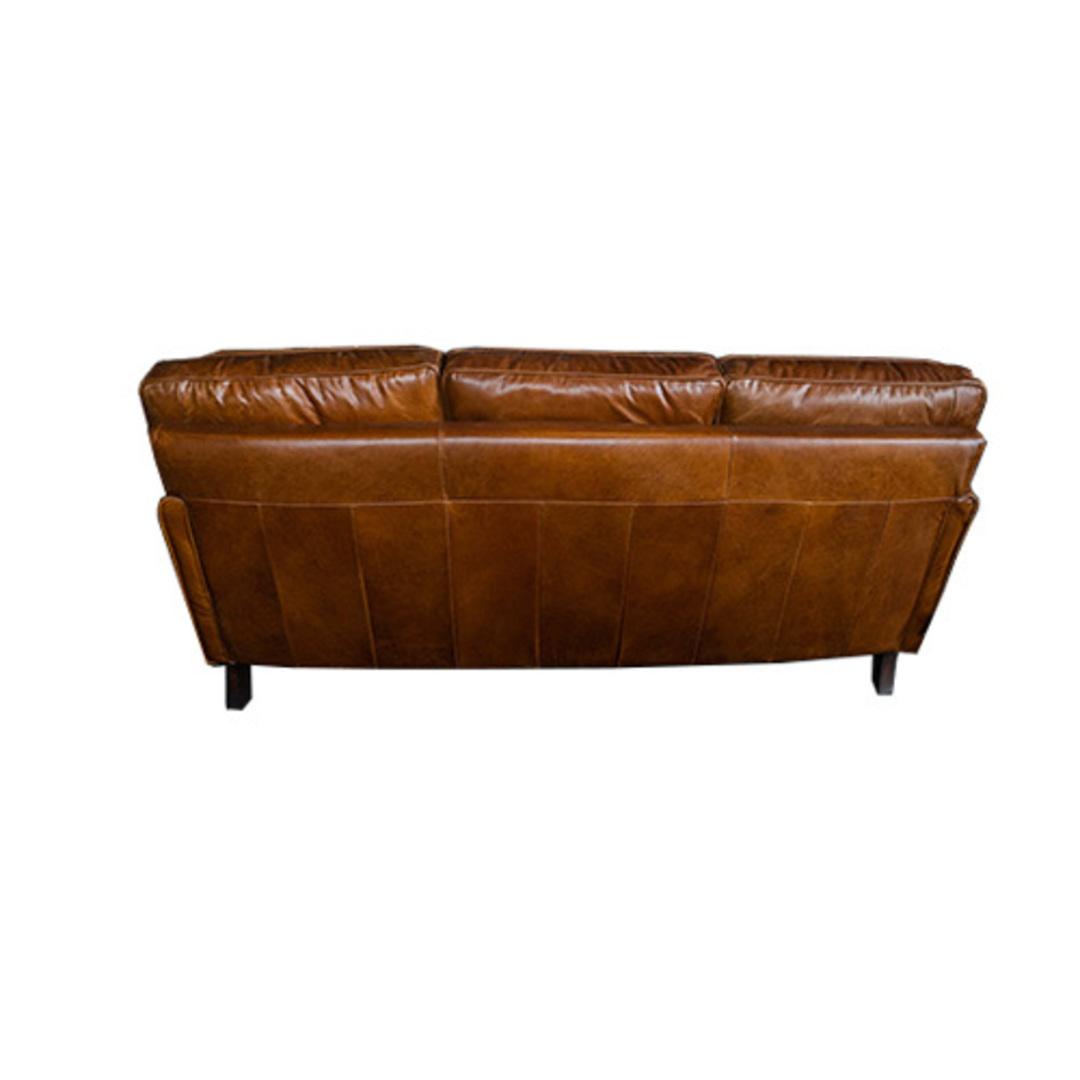Sandringham Aged Italian Leather 3 Seater image 3