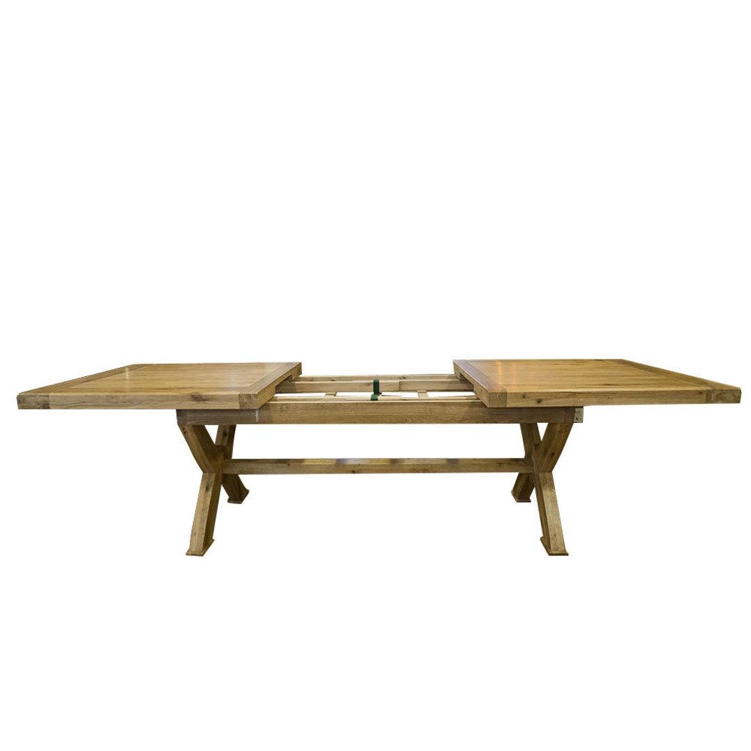 Oak Chateau Extension Table 2.1 M - 2.9M image 3