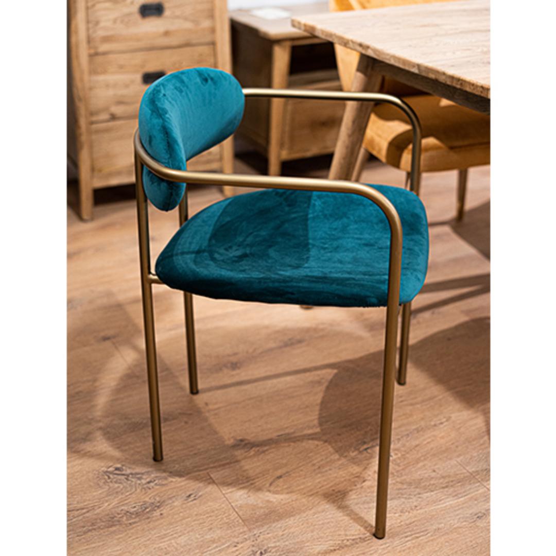 Granada Dining Chair Emerald Velvet image 1