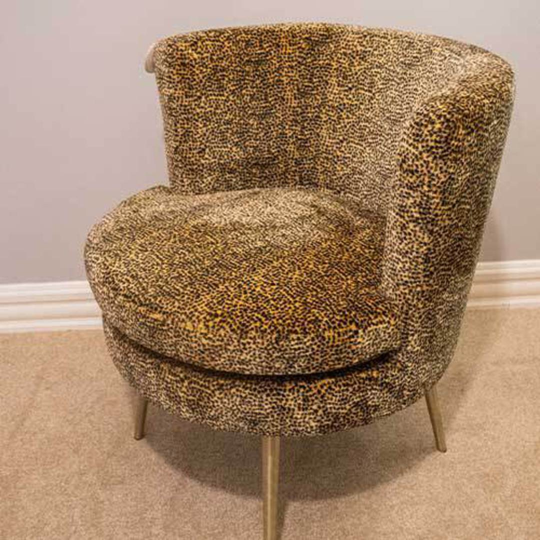 Modern Cheetah Chair image 4