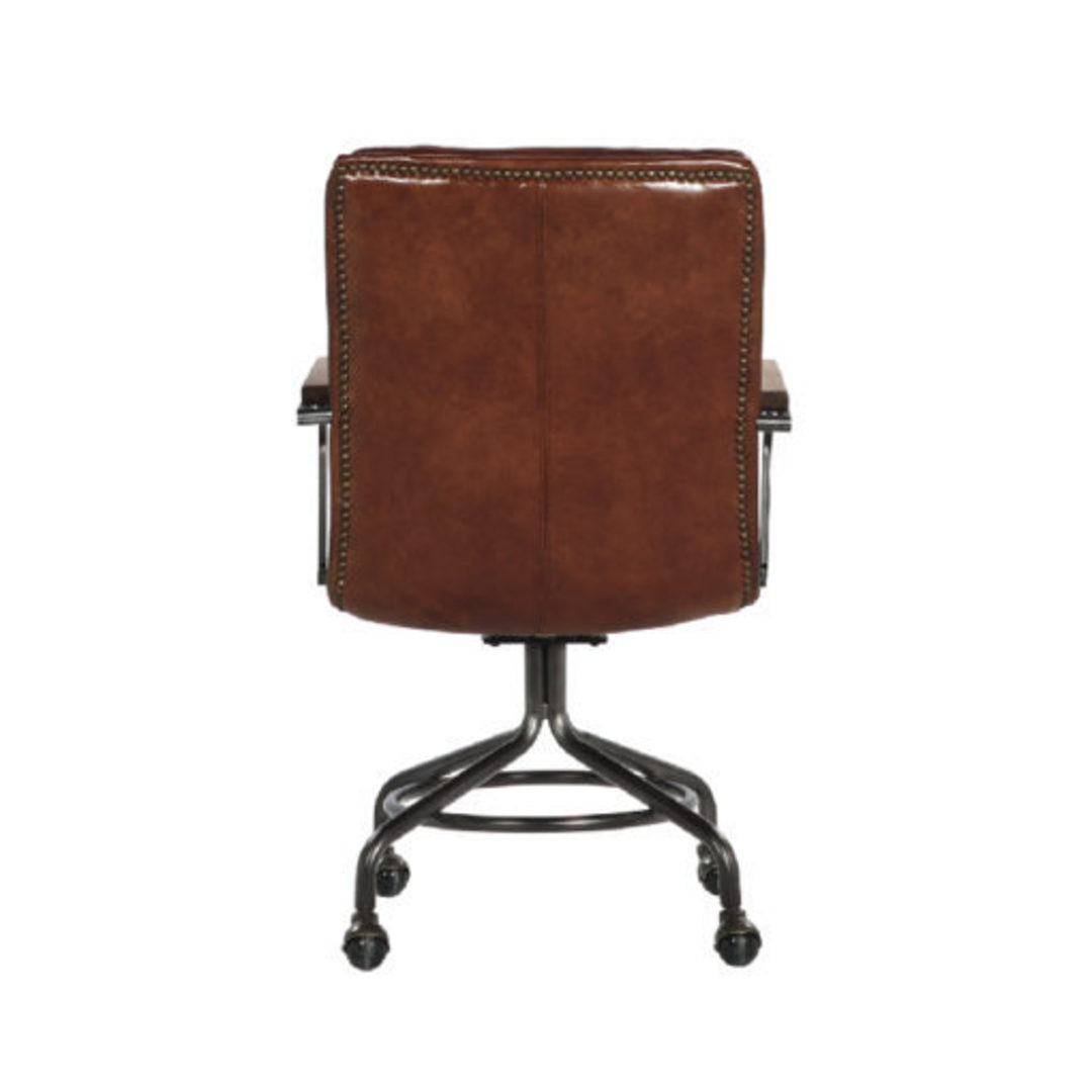 Newcastle Vintage Leather Office Chair image 5