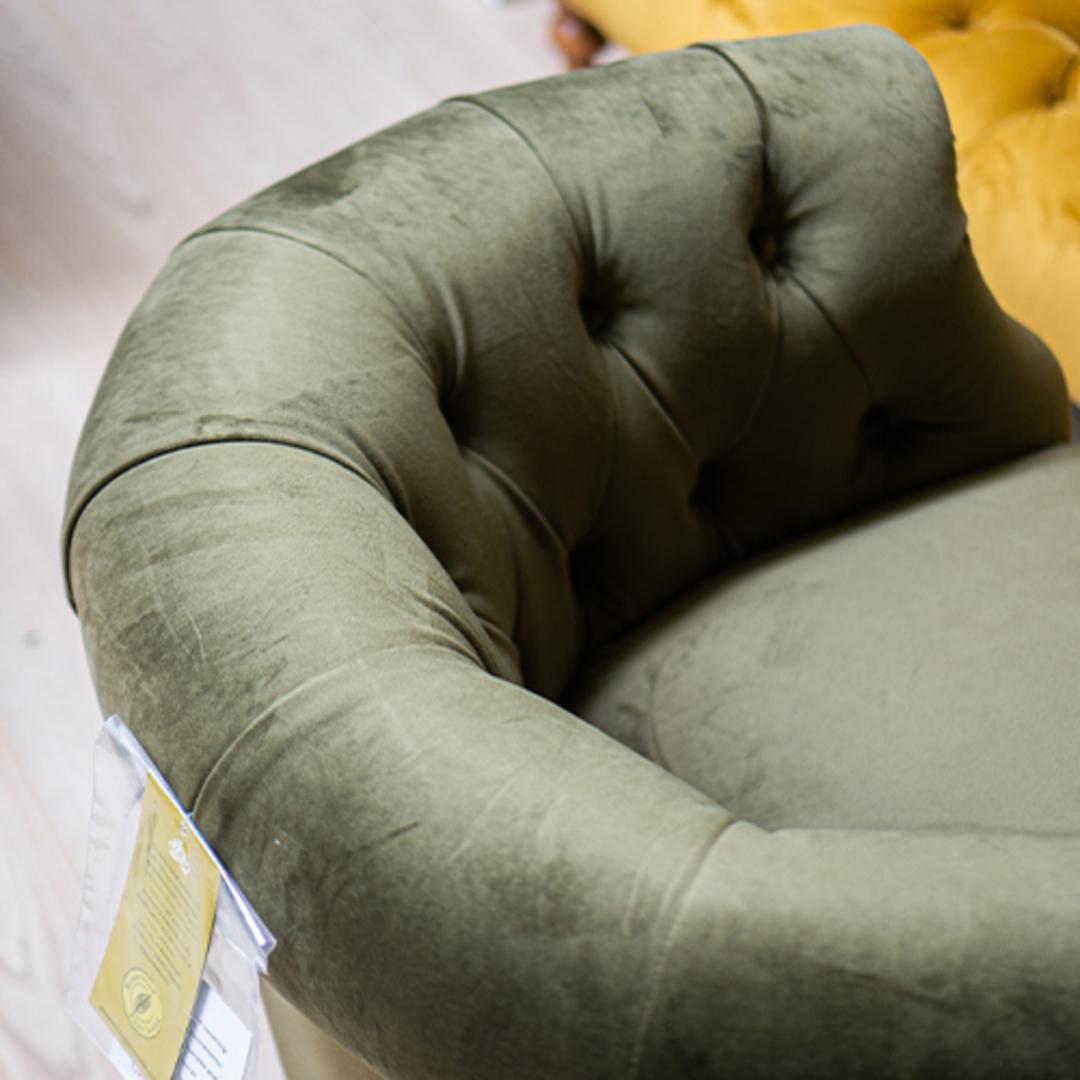 Jude Chair Plush Velvet Green image 3