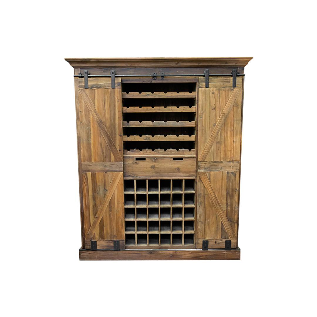 Bar & Wine Unit With Sliding Doors image 0