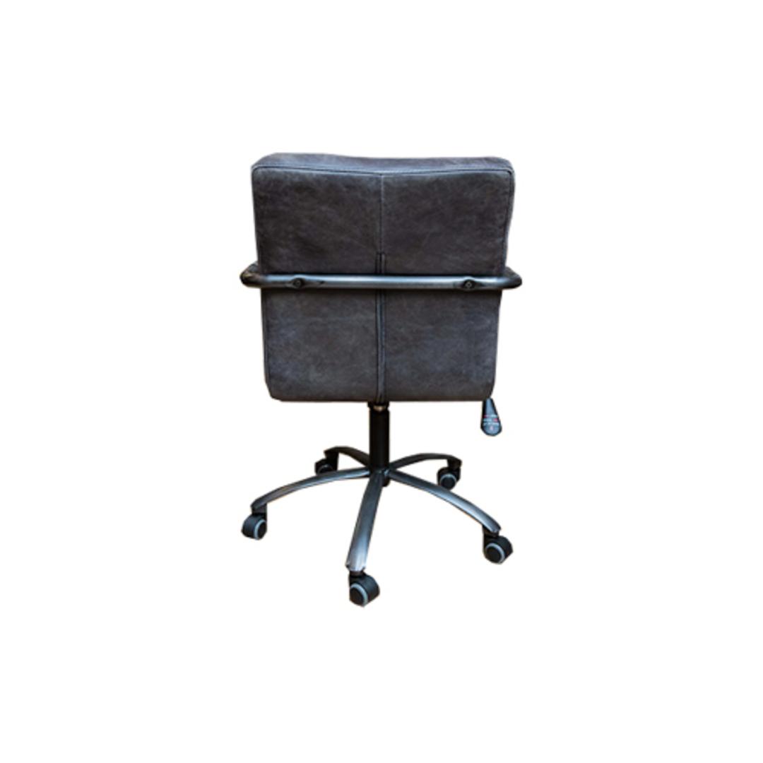 Barcelona Leather Desk Chair image 3