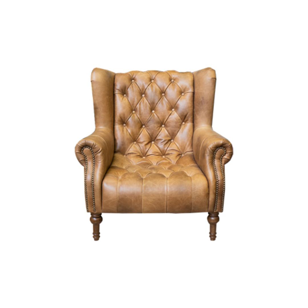 Theo Chair Cal Tan image 0