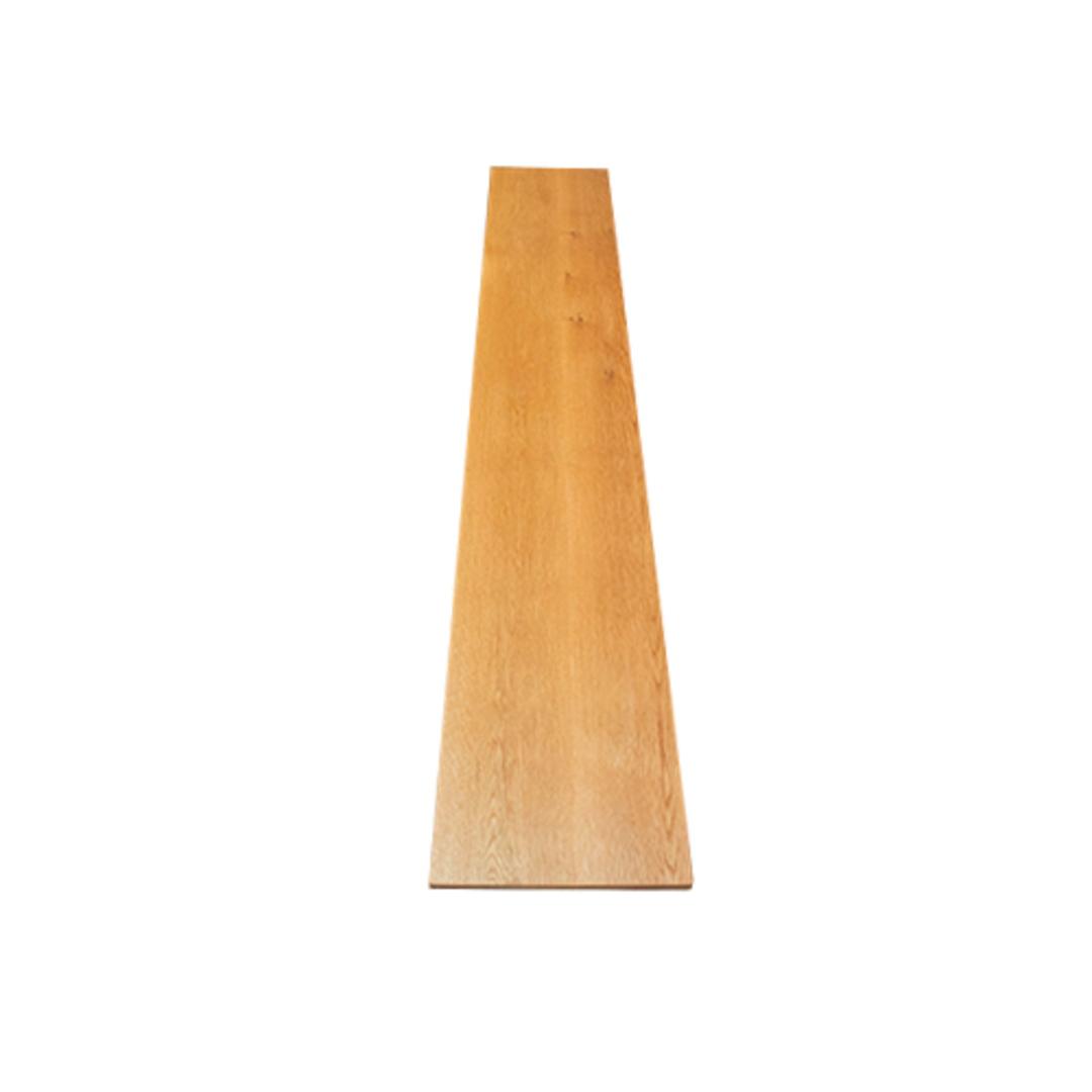 American Oak X-Leg Bench Seat NZ Made image 4