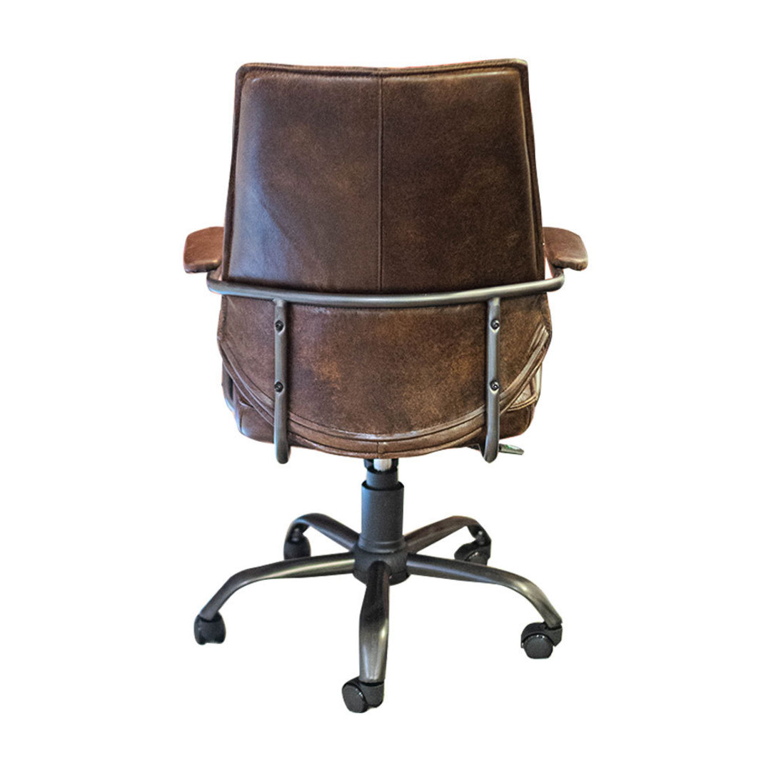Oxford Office Chair Leather image 3