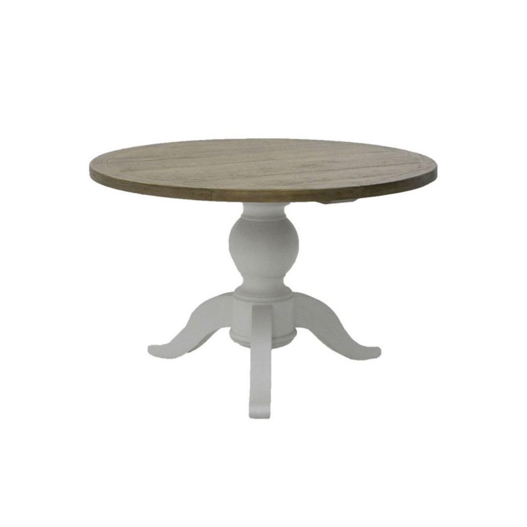 Mango Wood Round Table 120cm image 0