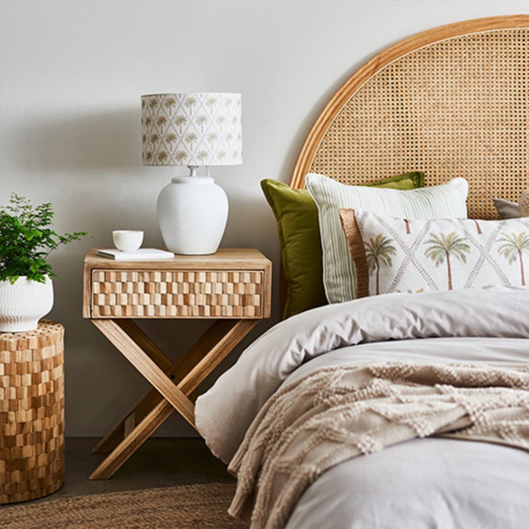 Capricorn Green Lumbar Cushion image 1