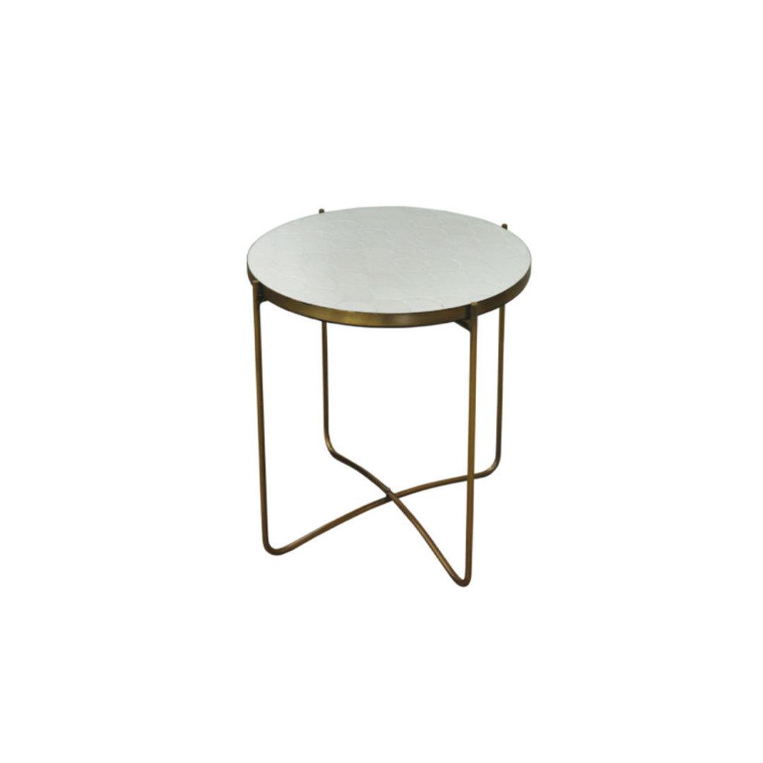 Clifton White Tile Table image 0