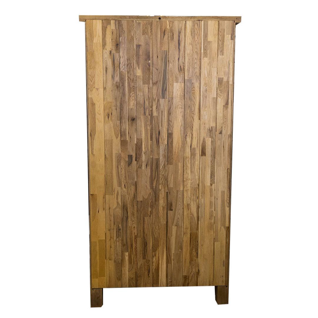 Light Oak Display Cabinet image 3