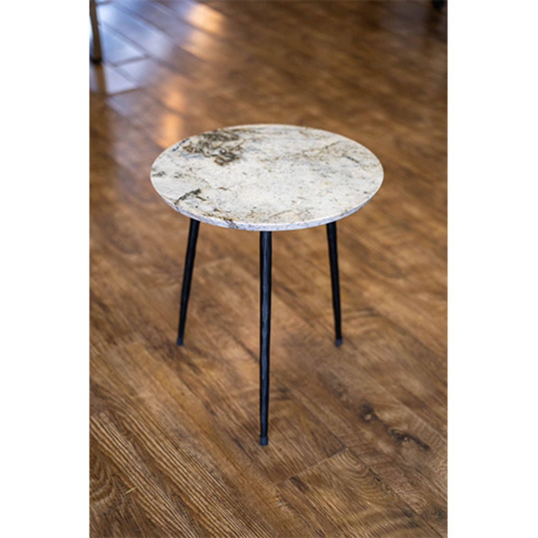 Alpine Marble Table Tall image 2